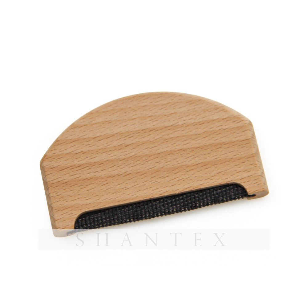 Pettine in legno di faggio pettine lana cashmere pettine Pilling